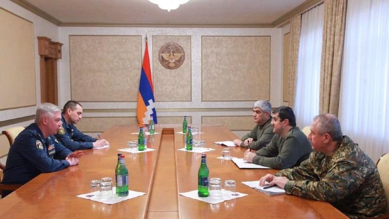 Արայիկ Հարությունյանն ընդունել է ՌԴ ԱԻՆ օպերատիվ խմբի ղեկավար Իգոր Կուտրովսկուն