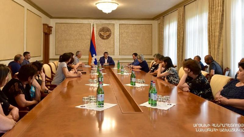 ԱՀ կառավարությունը, սերտ համագործակցելով ՀՀ կառավարության և ՌԴ խաղաղապահ զորակազմի հետ, անում է հնարավորն անհայտ կորածների ճակատագրերը պարզելու ուղղությամբ. ԱՀ նախագահ