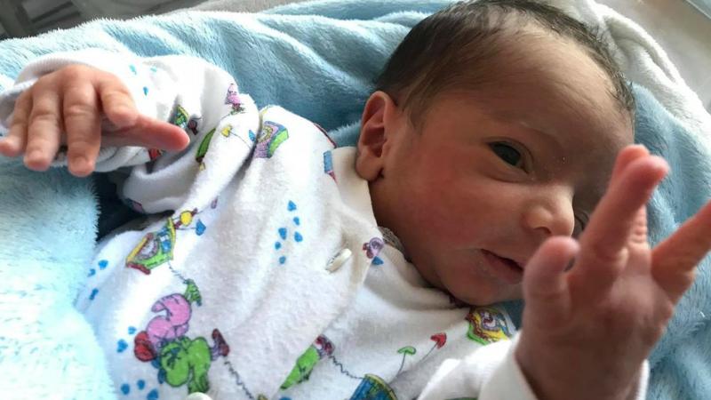 Սուրբ Գրիգոր Լուսավորիչ բուժկենտրոնի ծննդատանը ծնվել է արցախցի Միրզոյանների ընտանիքի 7-րդ երեխան՝ Արայիկը