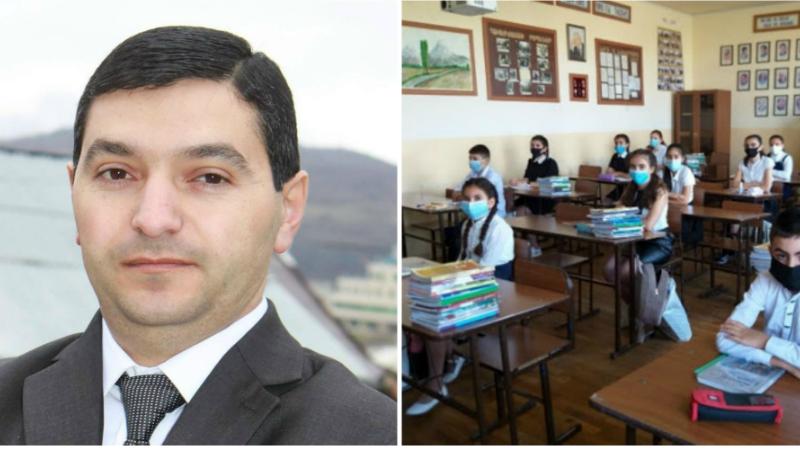 Մարտակերտի շրջանի 29 հանրակրթական դպրոցներում վերսկսվել է ուսումնական գործընթացը՝ 1800 աշակերտով. Դավիթ Լալայան