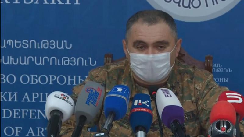 Արցախա-ադրբեջանական սահմանագծի մարտական գործողությունների ընթացքում Ադրբեջանը կորցրել է ավելի քան 500 զինծառայող․ Արցախի ՊԲ հրամանատարի տեղակալ