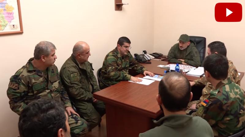 Նիկոլ Փաշինյանի և բանակի հրամկազմի հետ քննարկել ենք տարածաշրջանում ծայր առնող ահաբեկչական նոր օջախի ոչնչացման ծրագիրը․ Արայիկ Հարությունյան