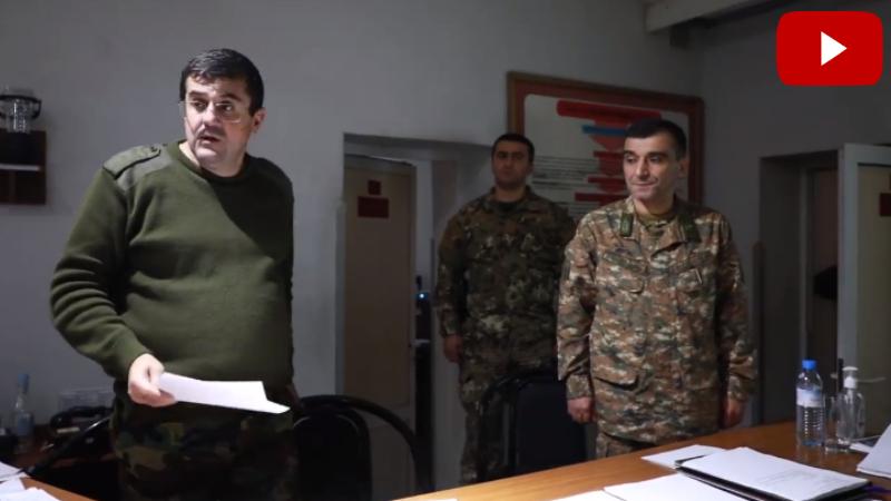 Միքայել Արզումանյանին նշանակել եմ ԱՀ պաշտպանության նախարար-պաշտպանության բանակի հրամանատար. Արայիկ Հարությունյան (տեսանյութ)