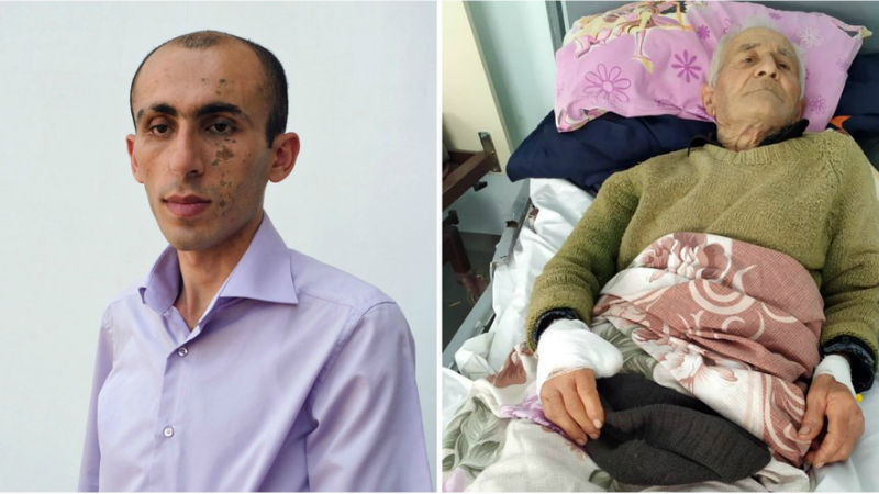 Ադրբեջանական հրթիռակոծության հետևանքով Շուշիի իր տանը վիրավորված 90-ամյա Սերգեյ Հակոբյանի կյանքին վտանգ չի սպառնում․ ԱՀ ՄԻՊ