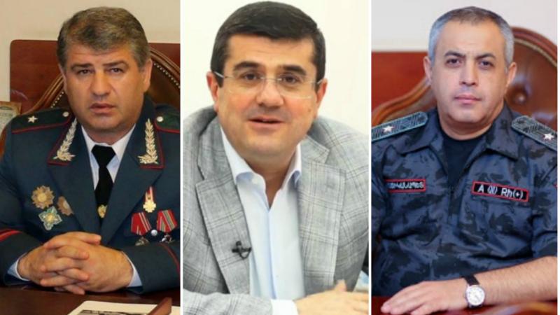 Արցախի ԱԱԾ տնօրենը և ոստիկանության պետն ազատվել են պաշտոններից՝ նշանակվելով նախագահի ներկայացուցիչ