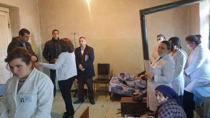 Արցախ ժամանած բժիշկ-փորձագետների խումբը այցելել է ԱՀ Մարտունու և Ասկերանի շրջանային բուժմիավորումներ