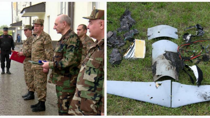 Բակո Սահակյանը պարգևատրել է ապրիլի 21-ին հակառակորդի անօդաչու թռչող սարքը խոցած անձնակազմին