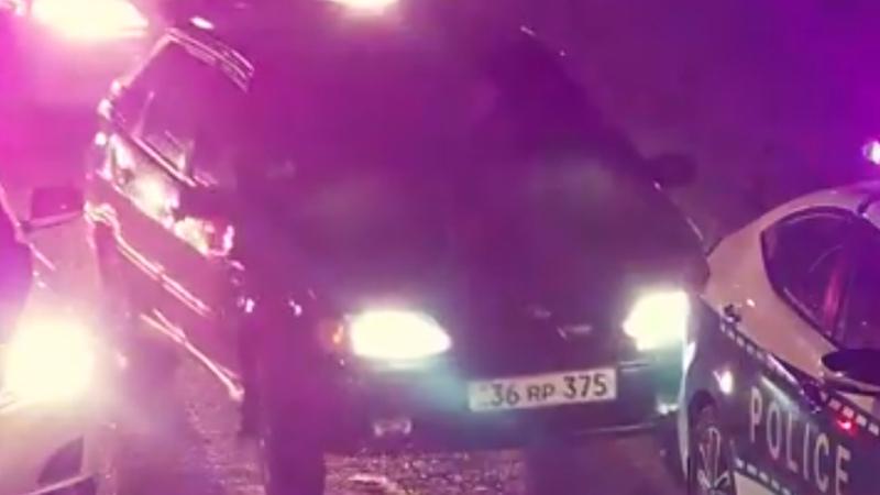 Արցախում քաղաքացին ավտոմեքենայով հարվածել է ՃՈ ավտոմեքենաներին և դիմել փախուստի