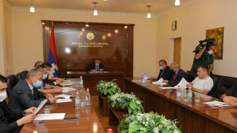 Արցախի Ազգային ժողովի նախագահը աշխատանքային խորհրդակցություն է հրավիրել