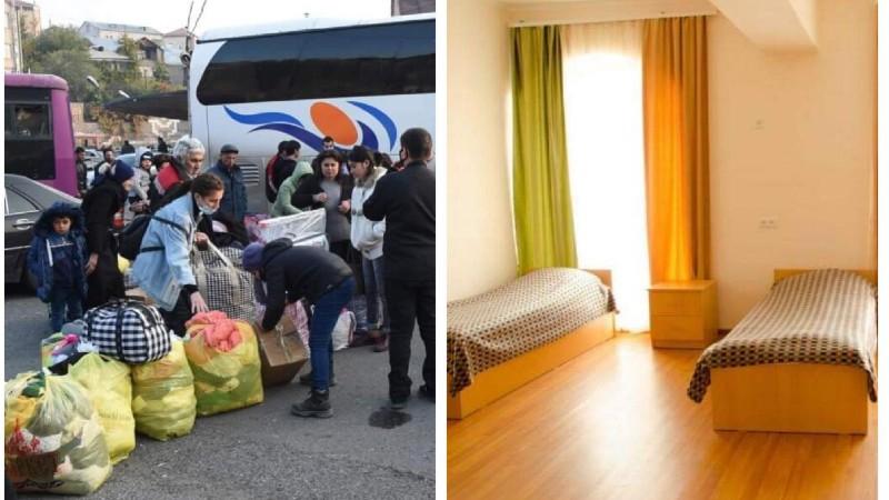 Արցախի հյուրանոցներում ազատ սենյակ չկա. արցախցիներին բնակեցնելու գործընթացն առայժմ դադարեցվում է
