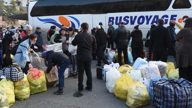 Անվճար ուղևորվող ավտոբուսներով Արցախ են մեկնել 3782 արցախցիներ