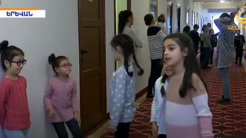 «Մենք սովոր ենք ավերակներից վեր հառնելու».Օլիմպավանում հանգրվանած արցախցիների առօրյան․ (տեսանյութ)