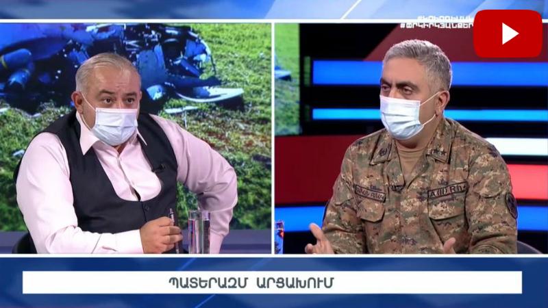 Հարցազրույց Արծրուն Հովհաննիսյանի հետ (ուղիղ միացում)