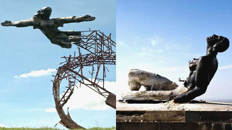 Երեւան-Սեւան մայրուղու հարեւնությամբ վեր խոյացող «Արձագանք» եւ «Անվերջության ժապավեն» քանդակները կվերականգնվեն