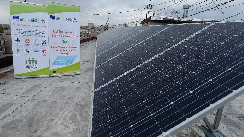 Երևանի 40 շենք արդեն օգտվում է արևային էներգիայից