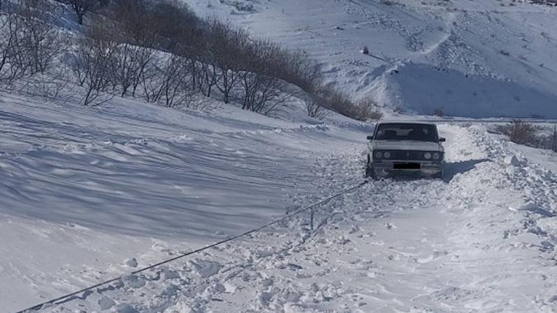 Փրկարարները Գորիս-Սիսիան ճանապարհահին արգելափակումից դուրս են բերել մոտ 110 ավտոմեքենա