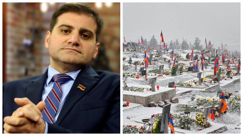 Առաջարկում եմ Հայաստանի պետական արարողակարգում որպես օտարերկրյա հյուրերի այցելության պաշտոնական վայր ընդգրկել Եռաբյլուր պանթեոնը․ Արման Բաբաջանյան
