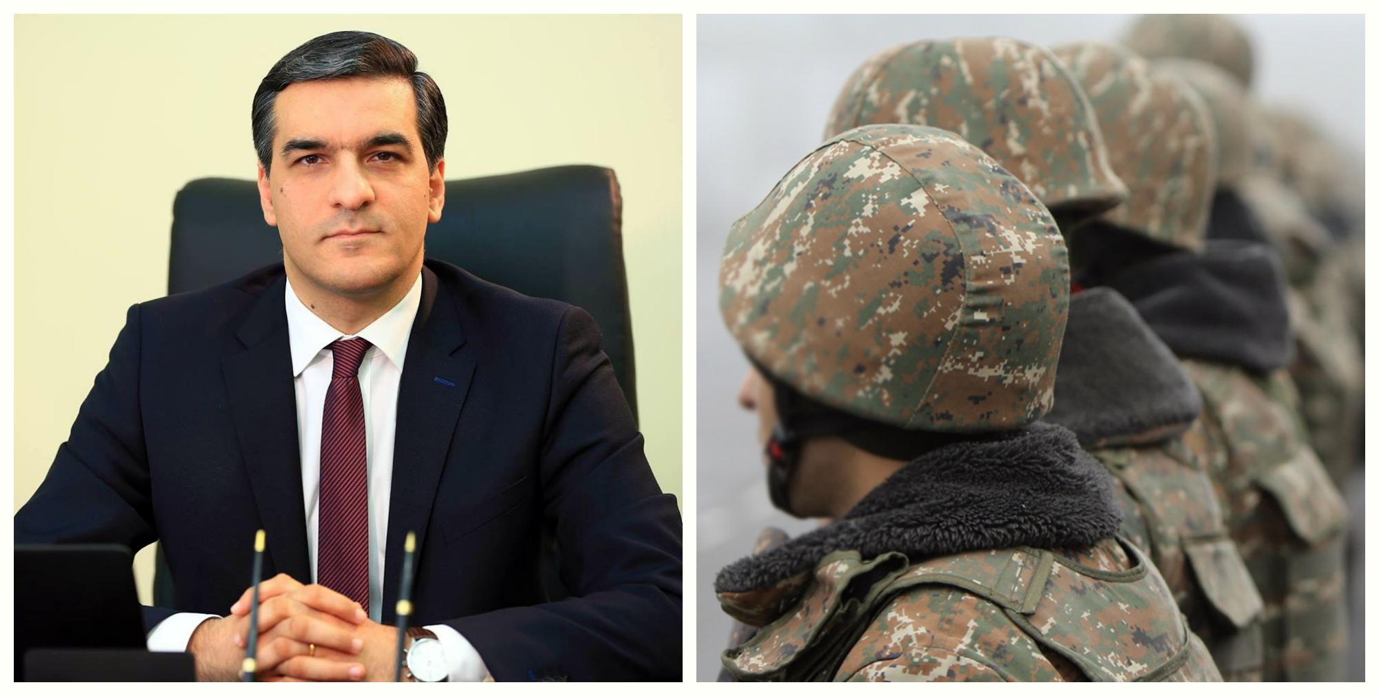 ՀՀ Մարդու իրավունքների պաշտպանը Արցախում առանձնազրույցներ է ունեցել զինծառայողների հետ (լուսանկարներ)
