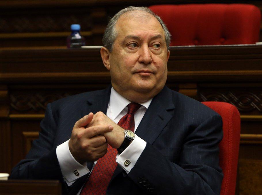 ՀՀ նախագահ Արմեն Սարգսյանը նոր նշանակում է կատարել