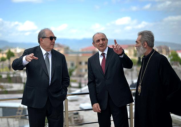 Դուք ունեք կյանքի և աշխատանքի հարուստ փորձ. Բակո Սահակյանը շնորհավորել է Արմեն Սարգսյանին