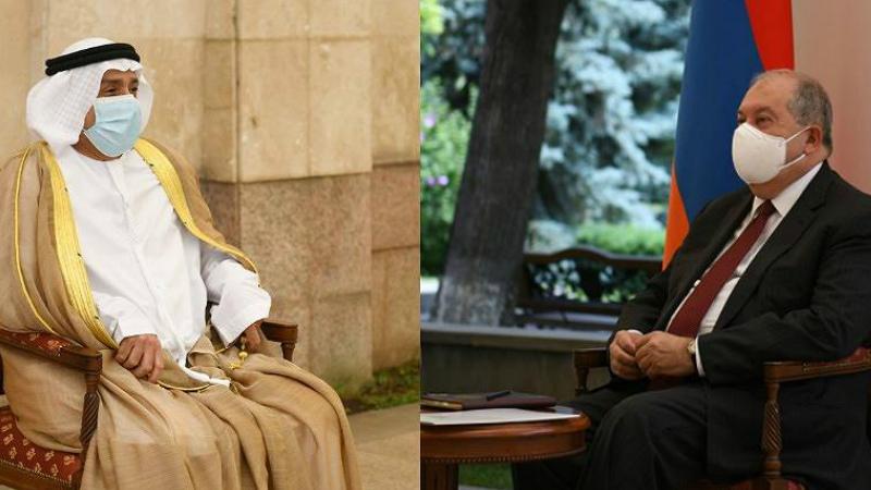 Արմեն Սարգսյանն ընդունել է Հայաստանում ԱՄԷ դեսպան Մուհամմադ Ալ Զաաբին՝ դիվանագիտական առաքելության ավարտի կապակցությամբ