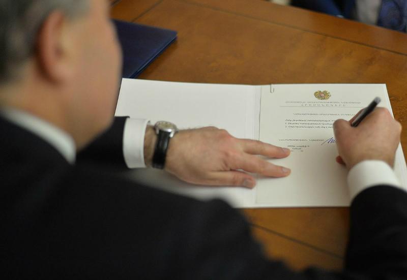 Նախագահը ստորագրել է Վանեցյանի ազատման հրամանը