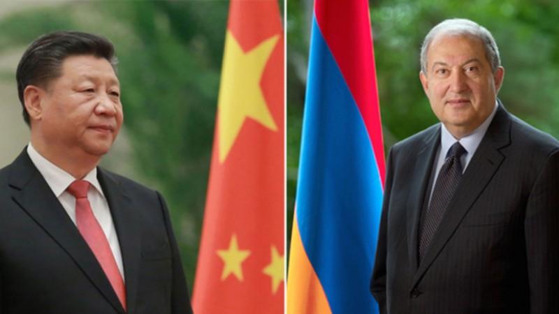 Համավարակի դեմ պայքարում մենք ապավինում ենք նաև մեր բարեկամների օգնությանը․ Արմեն Սարգսյանը՝ Չինաստանի նախագահին