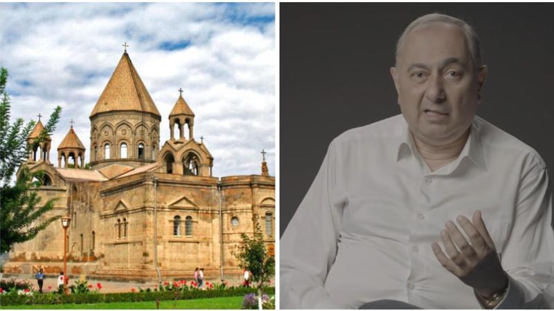 Պատկան կառույցներին հորդորում ենք անհապաղ ազատ արձակել պրոֆեսոր Արմեն Չարչյանին. Մայր Աթոռի հայտարարությունը