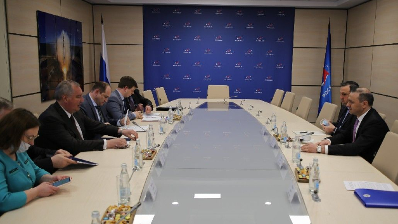 Արմեն Գրիգորյանը և Դմիտրի Ռոգոզինը պայմանավորվել են ստեղծել աշխատանքային խումբ՝ ՀՀ-ի և ՌԴ-ի միջև տիեզերական գործունեության ոլորտում անելիքները որոշակիացնելու նպատակով