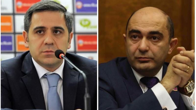 Արմեն Մելիքբեկյանն ու ՀՖՖ-ն դատի են տվել Էդմոն Մարուքյանին