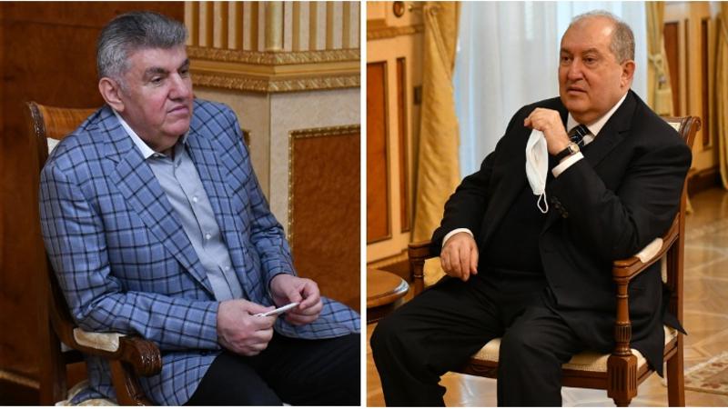 Արա Աբրահամյանն Արմեն Սարգսյանին տեղեկացրել է ՌՀՄ-ի աշխատանքների և ծրագրերի մասին