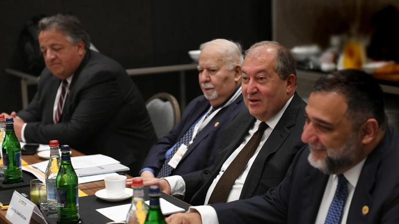 ՀՀ նախագահը շնորհակալական ուղերձ է հղել «Ավրորա» նախաձեռնության համահիմնադիրներին
