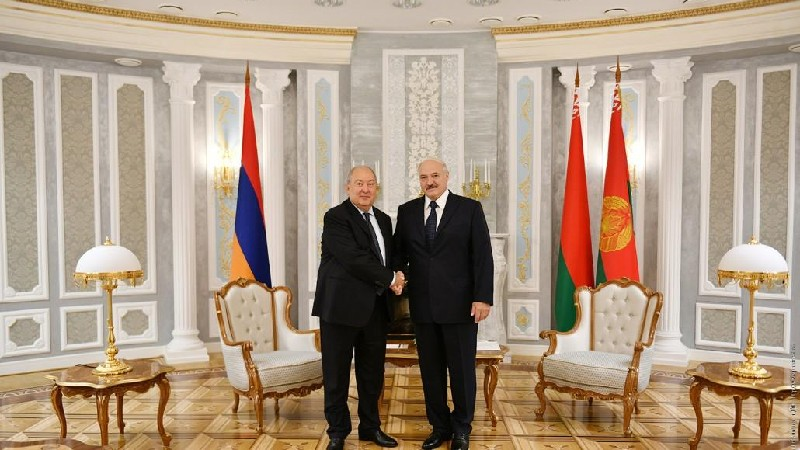 Արմեն Սարգսյանը ուղերձ է հղել Բելառուսի նախագահին