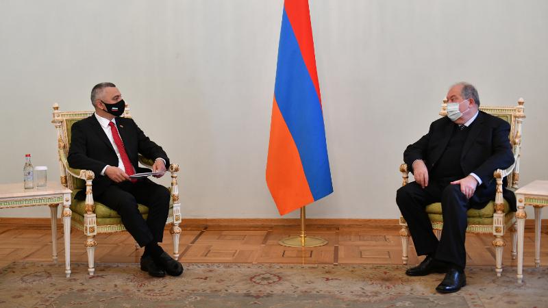 Հայաստանի և Բուլղարիայի հարաբերությունները մշտապես կառուցվել են ամուր պատմամշակութային կապերի ու բարեկամության հենքի վրա. նախագահը՝ Բուլղարիայի նորանշանակ դեսպանին