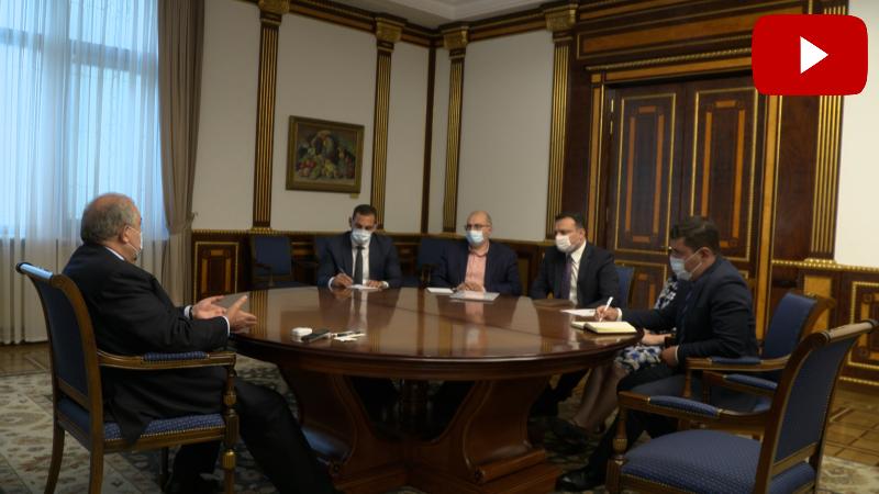 Արմեն Սարգսյանը «Հայաստան» հիմնադրամի գործադիր տնօրենի հետ քննարկել է Սյունիքի մարզում ծրագրեր իրականացնելու հնարավորությունը (տեսանյութ)