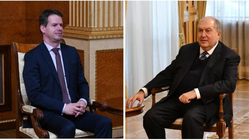 Նախագահ Սարգսյանը և Ֆրանսիայի դեսպանը մտքեր են փոխանակել միջազգային և տարածաշրջանային խնդիրների շուրջ