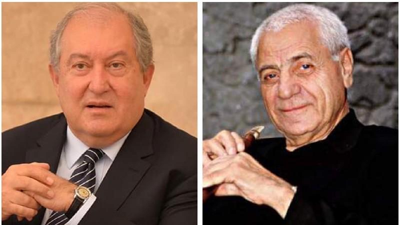 Արմեն Սարգսյանը ցավակցել է լեգենդար դուդուկահար Ջիվան Գասպարյանի մահվան կապակցությամբ