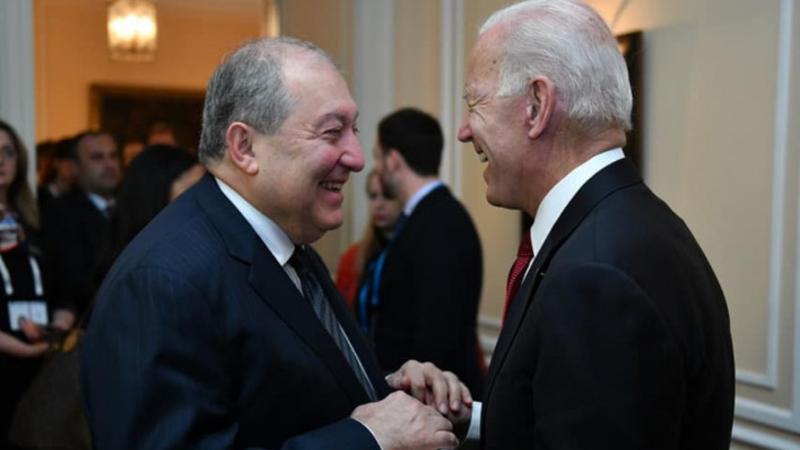 Արմեն Սարգսյանը շնորհավորական ուղերձ է հղել ԱՄՆ նախագահ Ջոզեֆ Բայդենին