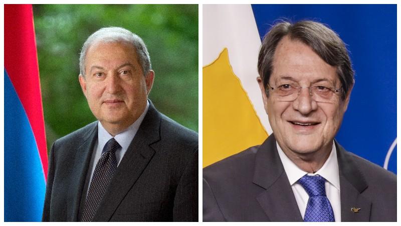 Արմեն Սարգսյանը շնորհավորել է Կիպրոսի նախագահ Նիկոս Անաստասիադիսին ծննդյան 75-ամյակի առթիվ