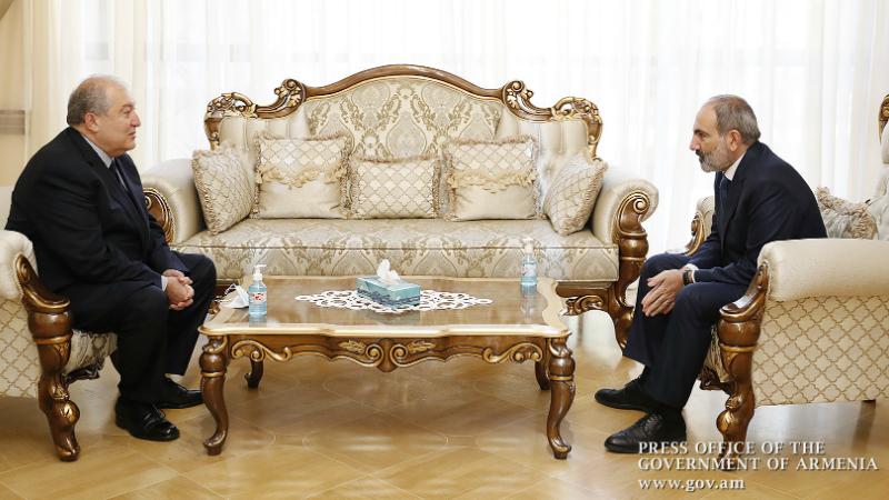 Տեղի է ունեցել Նիկոլ Փաշինյանի և Արմեն Սարգսյանի հանդիպումը