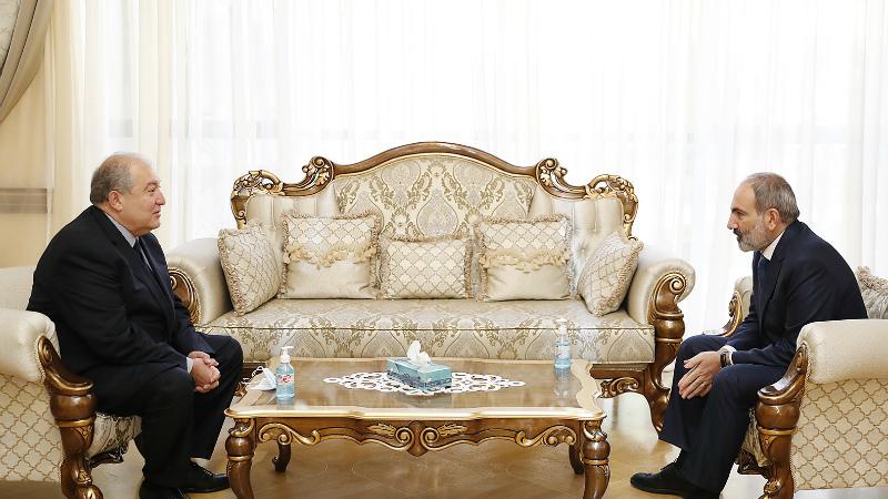 Նիկոլ Փաշինյանն ու Արմեն Սարգսյանը հանդիպել են