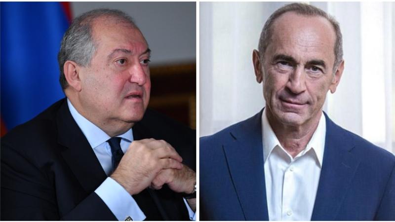 Նախագահ Սարգսյանը շնորհավորել է Ռոբերտ Քոչարյանին