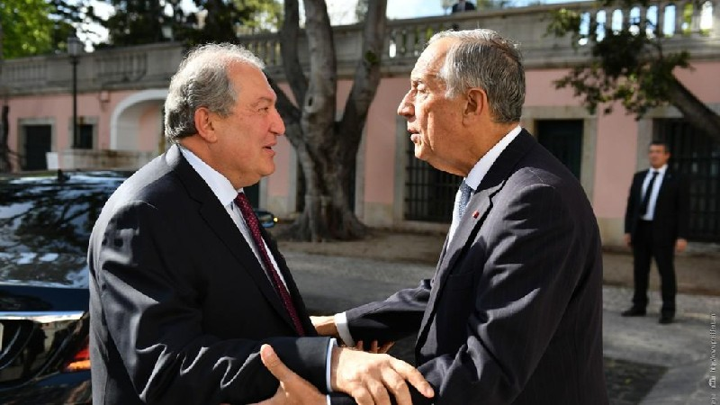 Նախագահ Արմեն Սարգսյանը շնորհավորել է Պորտուգալիայի նախագահին Ազգային տոնի առթիվ