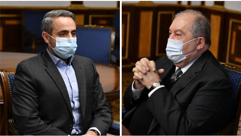Նախագահ Սարգսյանը և պրոֆեսոր Ղամբարյանն անդրադարձել են ՀՀ դատական օրենսգրքի փոփոխությունների փաթեթին