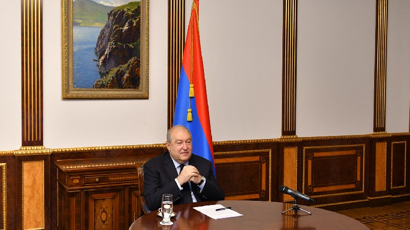 Ես հավատում եմ, որ մեր ազգը կարող է կառուցել ուժեղ Հայաստան. Արմեն Սարգսյան