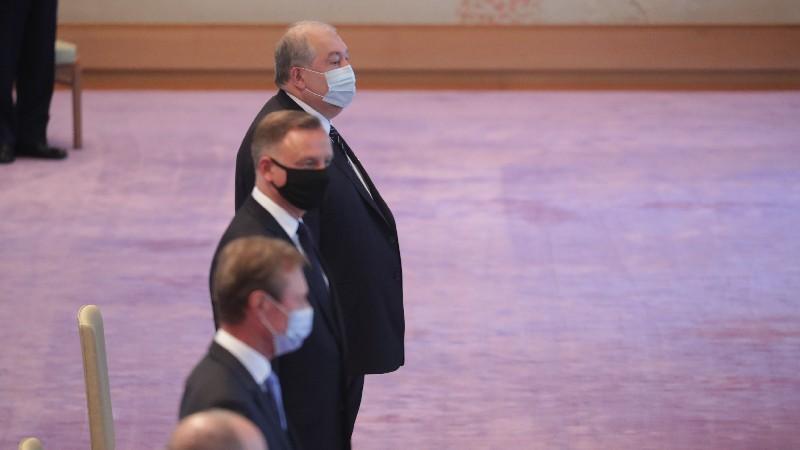 Արմեն Սարգսյանը մասնակցել է Ճապոնիայի կայսեր կողմից կազմակերպված ընդունելությանը (տեսանյութ)