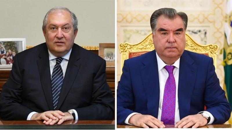 Հայաստանը մեծապես կարևորում է Տաջիկստանի հետ փոխհարաբերությունների ամրապնդումը. Արմեն Սարգսյանը շնորհավորական ուղերձ է հղել Էմոմալի Ռահմոնին