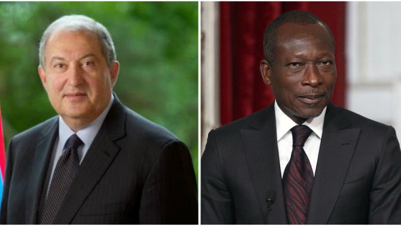Նախագահ Արմեն Սարգսյանը շնորհավորական ուղերձ է հղել Բենինի նախագահ Պատրիս Տալոնին