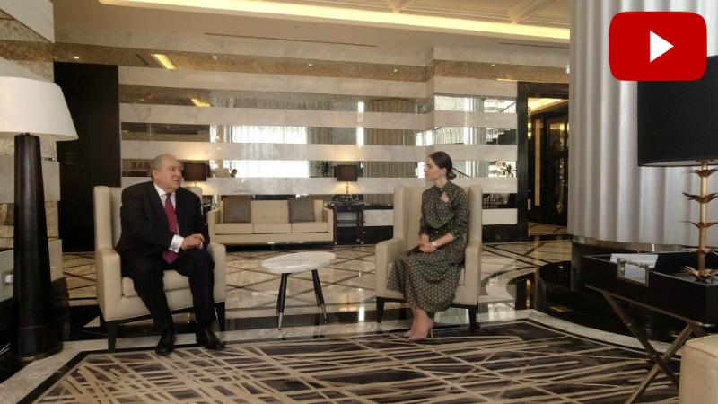 Նախագահ Արմեն Սարգսյանն իր՝ վարչապետ դառնալու մասին (տեսանյութ)