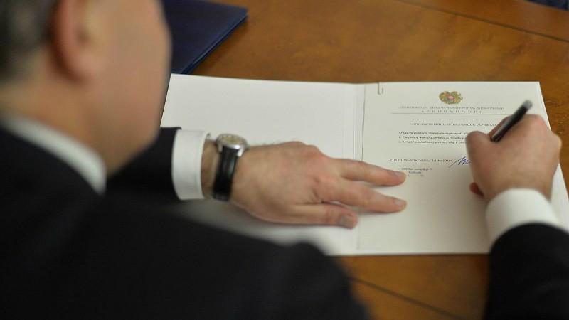 Արմեն Սարգսյանը ստորագրել է ՊՈԱԿ-ների մասին օրենքում փոփոխությունների և լրացումների օրենքը